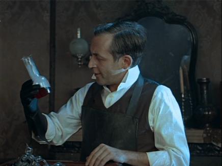 Vasily Livanov as Sherlock Holmes