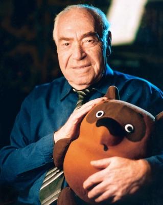 Russian animator Fedor Khitruk and his Winnie-Pooh