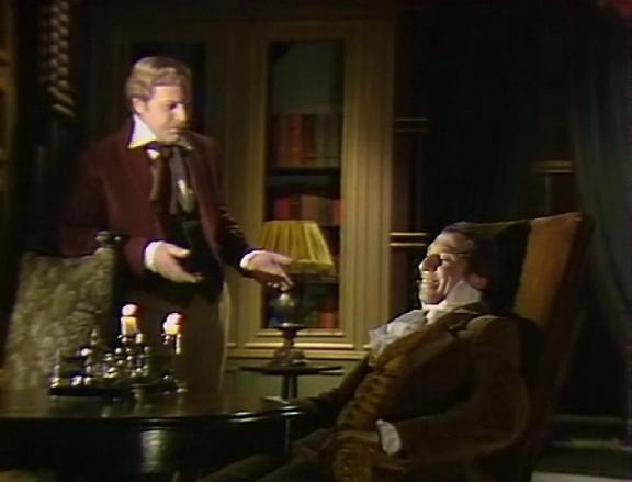 Yuri Bogatyryov and Sergei Yurskiy in Soviet TV adaptation of Edgar Poe's story (1982)