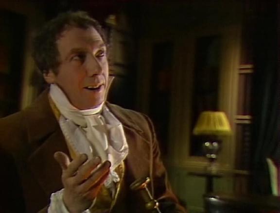 Sergei Yurskiy as detective Auguste Dupin in Soviet TV adaptation of Edgar Poe's story (1982)