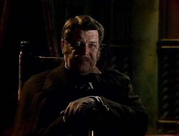 Vsevolod Larionov as Prefect  in Soviet TV adaptation of Edgar Poe's story (1982)