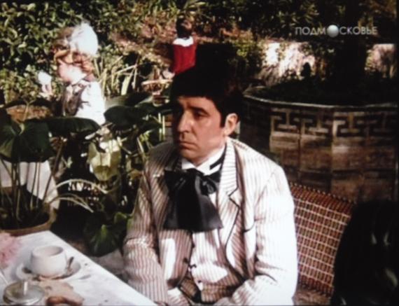Мишель Пилорже в роли Дюваля, друга Дюпена (1981)
