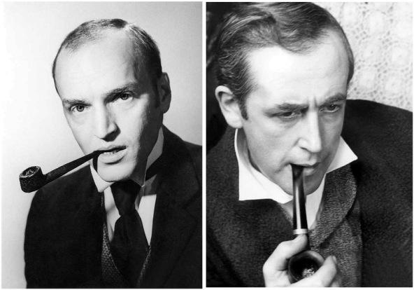 Alexander Kaydanovsky as Sherlock Holmes / Vasily Livanov as Sherlock Holmes