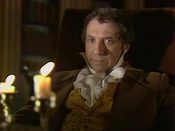 Sergei Yurskiy as detective Auguste Dupin from 1982 Soviet teleplay based on Edgar Poe's story