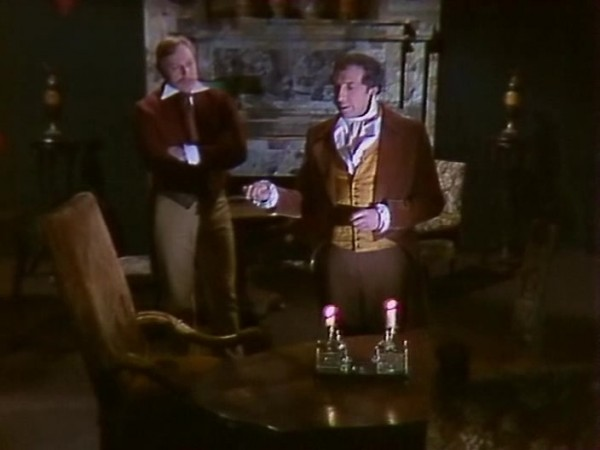 """Sergei Yursiy as Auguste Dupin in 1982 Soviet teleplay based on Edgar Poe""""s story"""