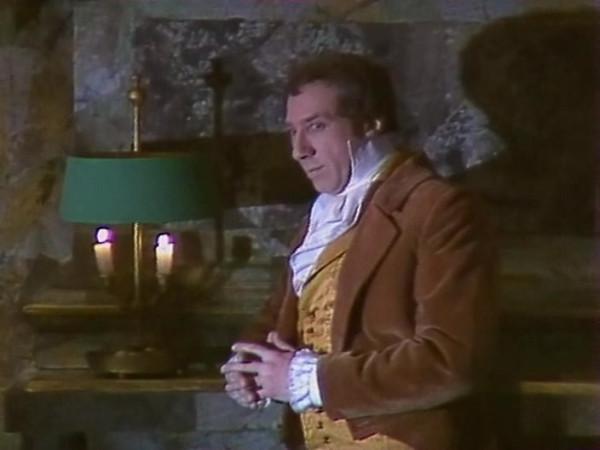 Sergei Yursiy as Auguste Dupin in 1982 Soviet teleplay based on Edgar Poe's story