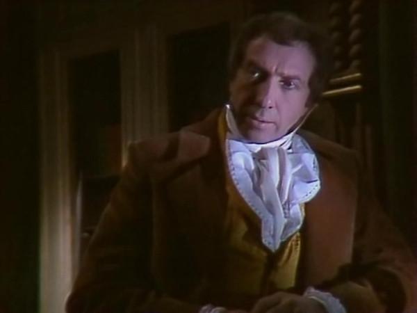 Sergei Yurskiy as Auguste Dupin in 1982 Soviet teleplay based on Edgar Poe story
