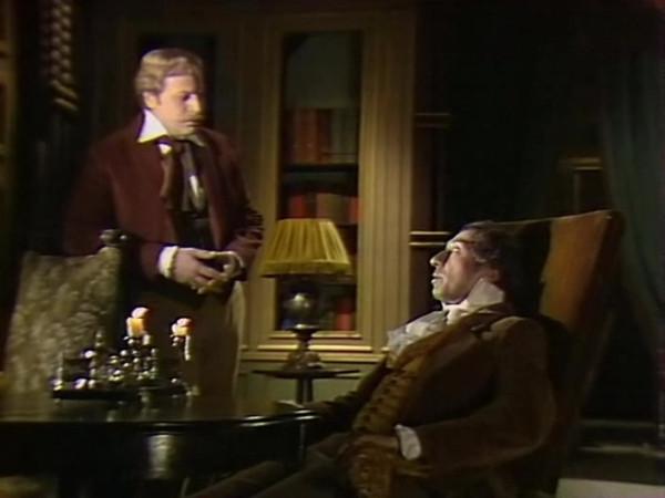 Sergei Yursky as Auguste Dupin in 1982 Soviet teleplay based on Edgar Poe story