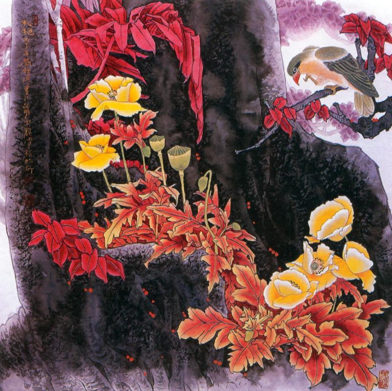 S4-YitaoLiu090-FlowersInTheAutumn