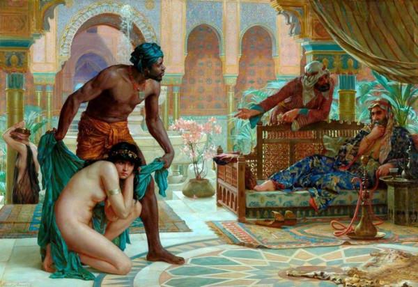 О русских рабынях в Европе