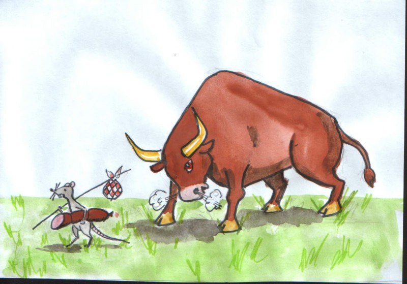 бык против крысы 3