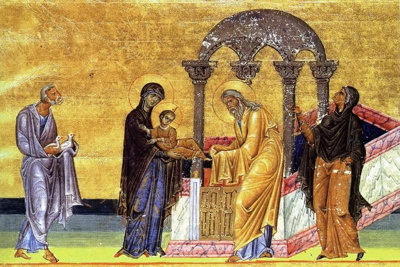 С праздником, православные! Сегодня - Сретение Господне! 40