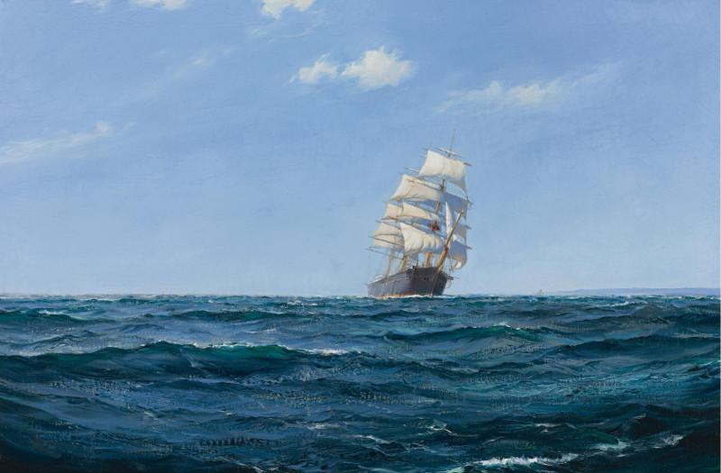 A Ship in open Water