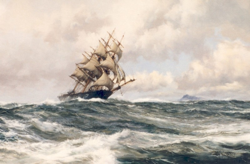 Cape Horner, the Clipper Ship LIGHTNING