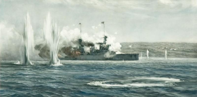 HMS Inflexible, Dordanelles