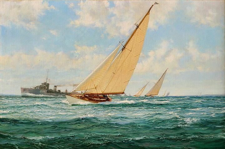 Royal Albert Yacht Squadron & Naval Convoy