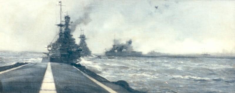 Ships Under Fire