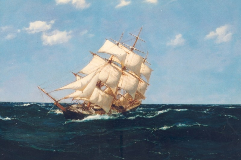 Surging Forward, the Clipper SILVER EAGLE