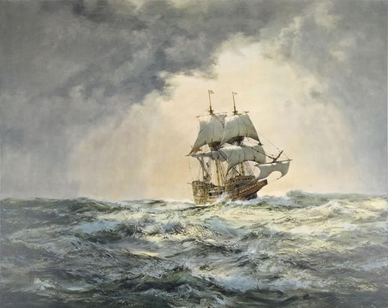 The gallant Mayflower