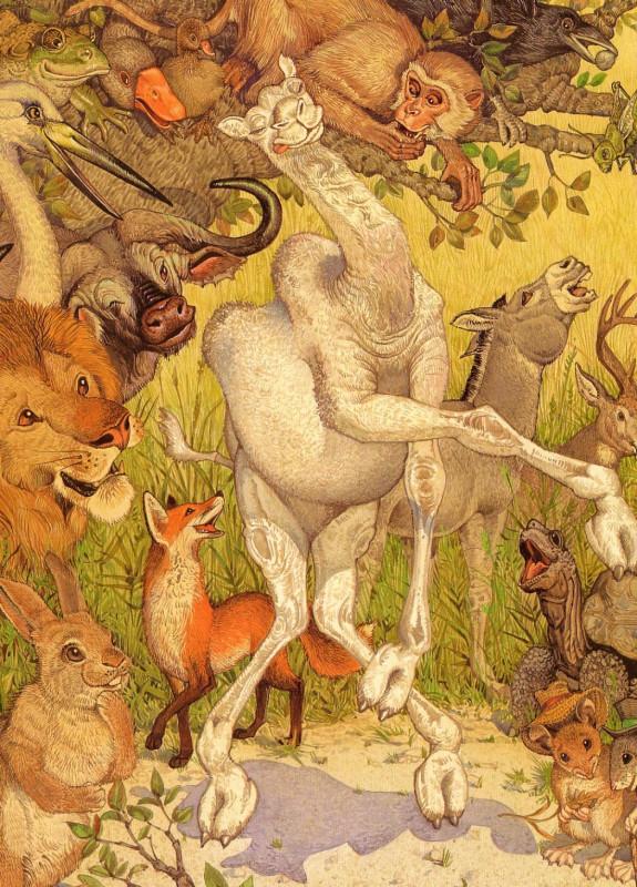 fop-(13)DonDaily-Aesop-Monkey-Camel