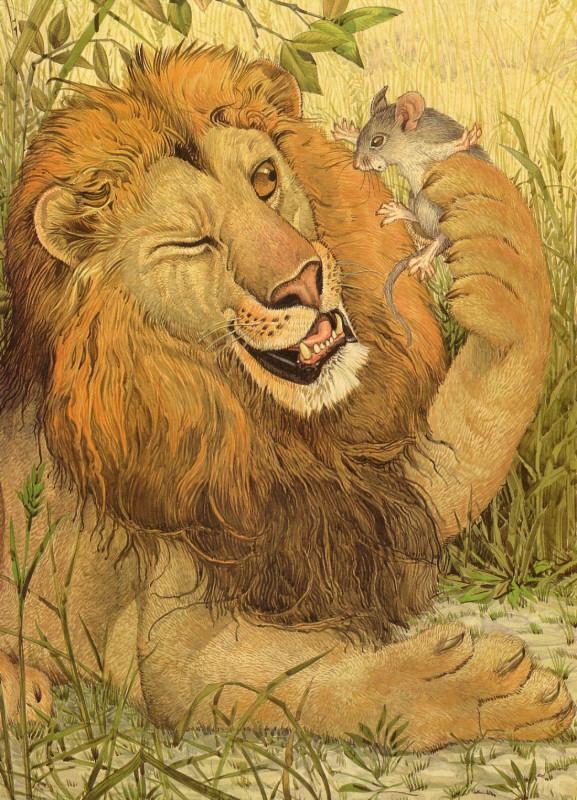 fop-(22)DonDaily-Aesop-Lion-Mouse