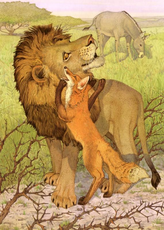 fop-(24)DonDaily-Aesop-Fox-Lion