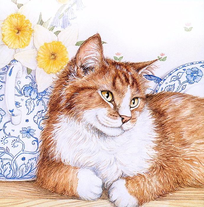Дебби Кук и её пушистые рисунки 1