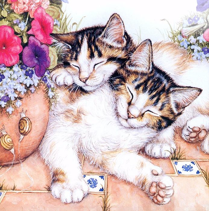 Дебби Кук и её пушистые рисунки 2