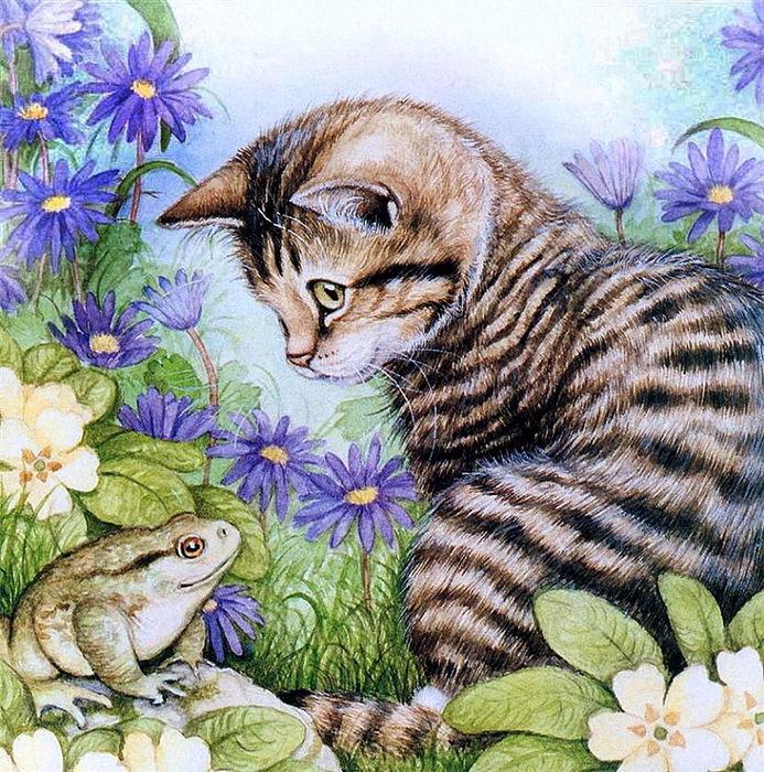 Дебби Кук и её пушистые рисунки 12