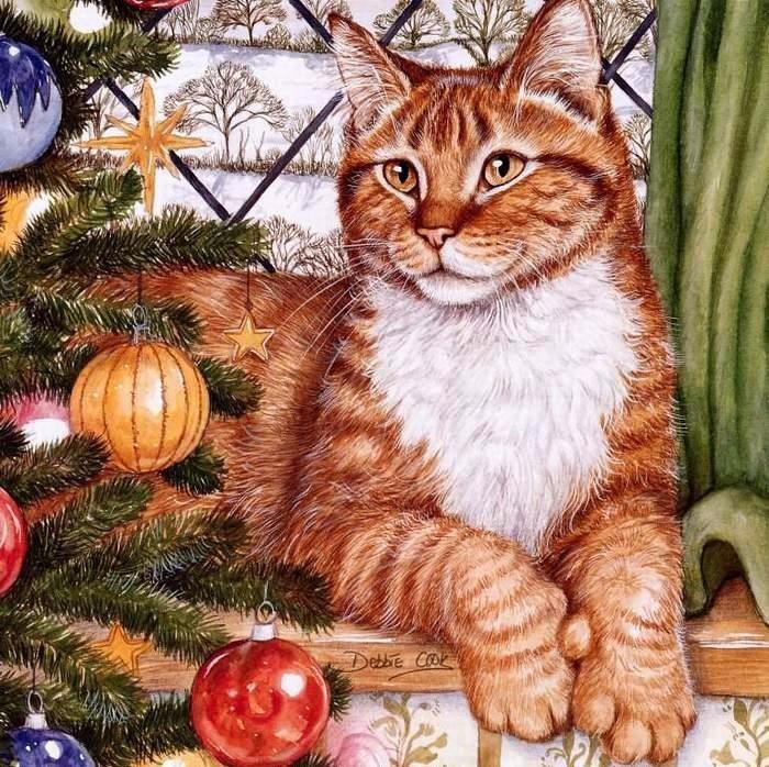 Дебби Кук и её пушистые рисунки 23