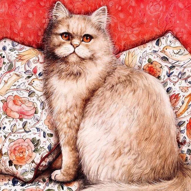 Дебби Кук и её пушистые рисунки 24