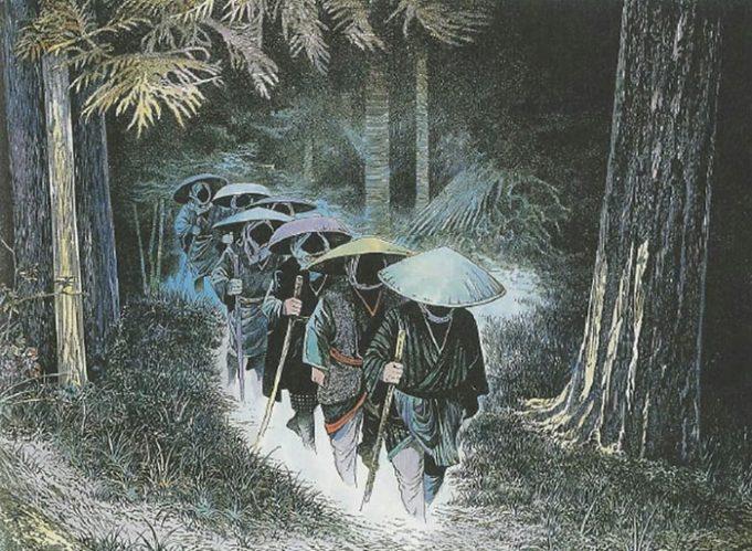 Самые странные мифологические существа Японии