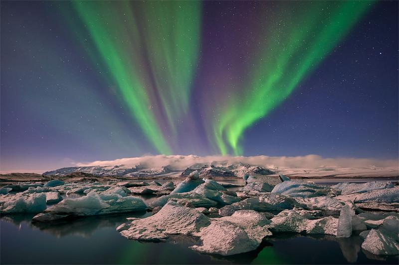 Северное сияние (фото из открытого источника)