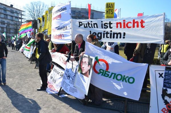 Встреча Путина в Ганновере 7 апреля