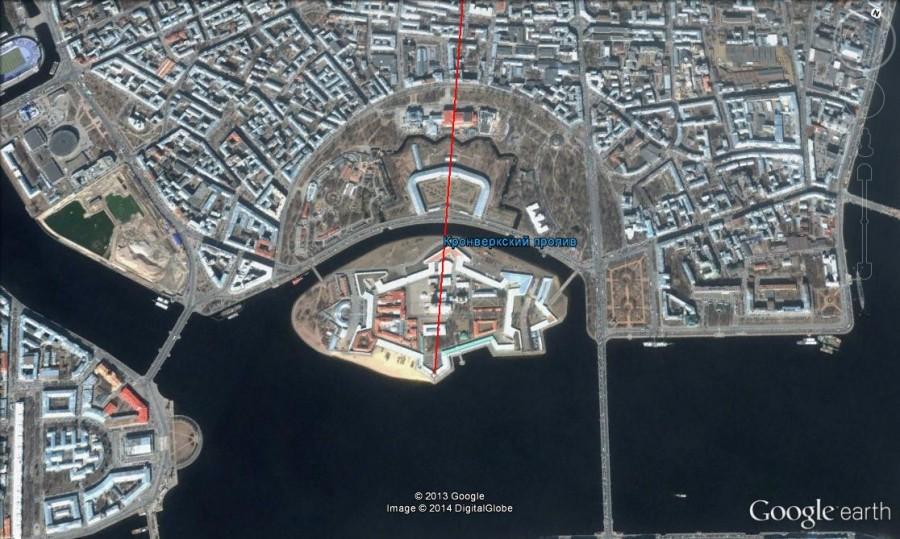 Петропавловская крепость 1
