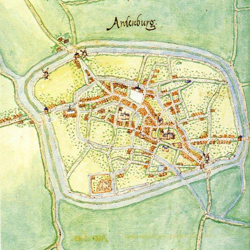 Аарденбург 1 карта