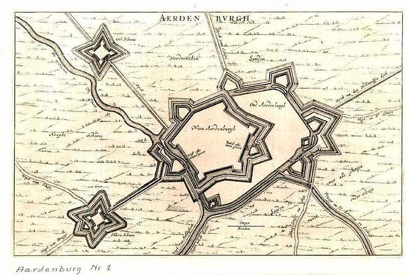 Аарденбург 1 схема