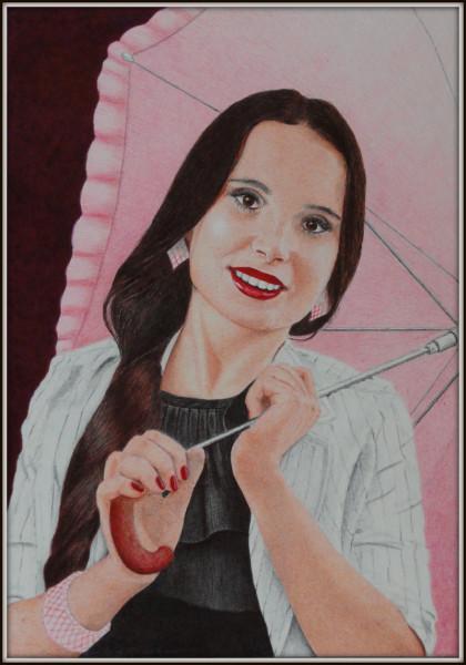 Девушка-с-зонтом