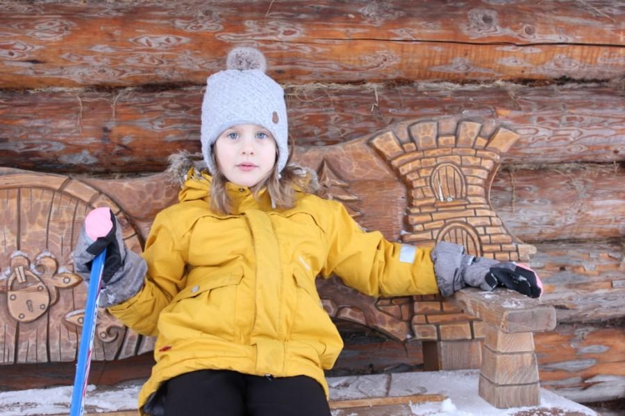 Зимние детские картинки