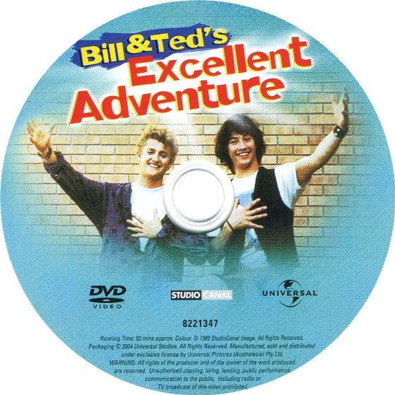 Bill and Ted logo