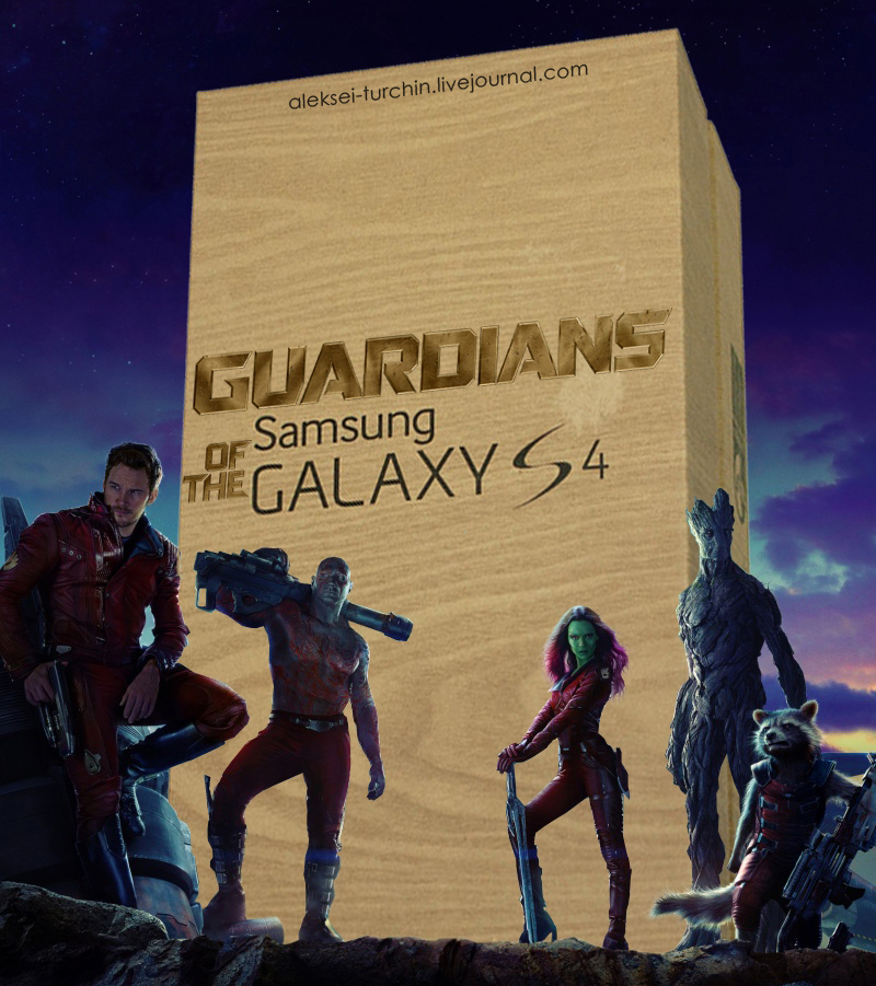 Guardians of the Galaxy S4