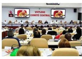 VII Пленум ЦК Компартии Кубы 4 июля 2018.jpg