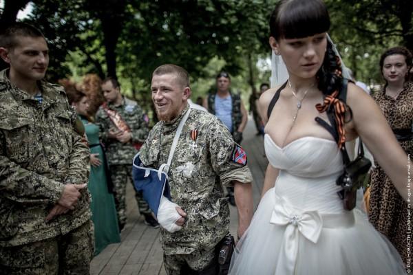 Моторола Арсен Павлов Свадьба в Донецке