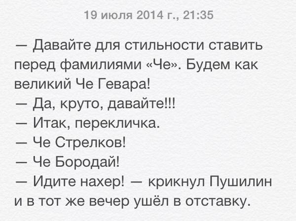 Че из Новороссии