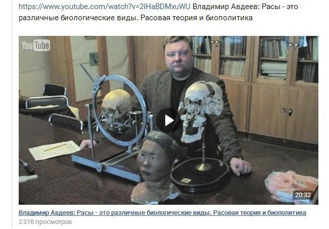 Картинки по запросу Владимир Авдеев: Расы - это различные биологические виды. Расовая теория и биополитика