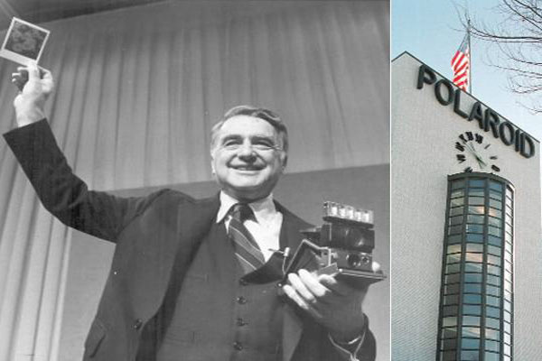 Картинки по запросу 1970 -Эдвин Лэнд запатентовал камеру «Polaroid».