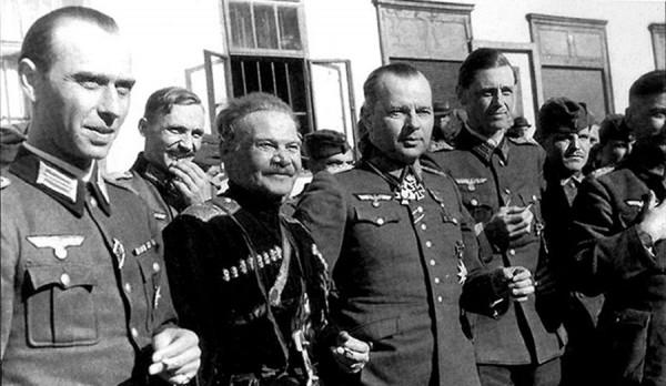 Шкуро и фон Паннвиц