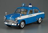 Москвич-407, полиция ВНР