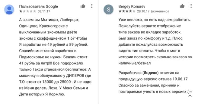 техподдержка ЯндексТакси