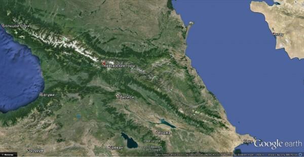 000-154-2-2 Каспий и Черное море Кавказ.jpg